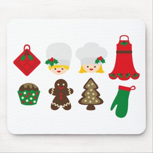 ChristmasKitchen7 Mousepad