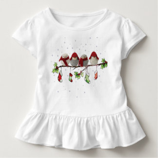 christmass birds toddler T-Shirt