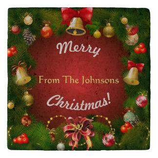Christmassy Holiday Decorations Trivet