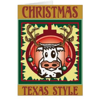 ChristmasTexas Style Card