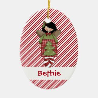 Christmastime Angel Tree Ornament