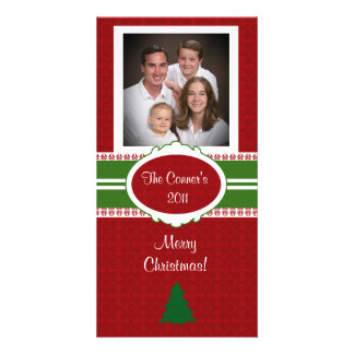 Christms Tree Family Photo Card