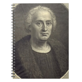 Christopher Columbus 1892 Spiral Note Books