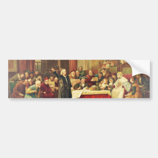 Christopher Columbus at the Royal Court of Spain Bumper Sticker