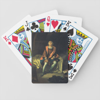 Christopher Columbus paint by Antonio de Herrera Bicycle Playing Cards