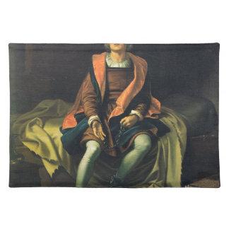 Christopher Columbus paint by Antonio de Herrera Placemat