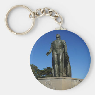 Christopher  Columbus Statue Keychain