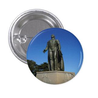 Christopher  Columbus Statue Pinback Button