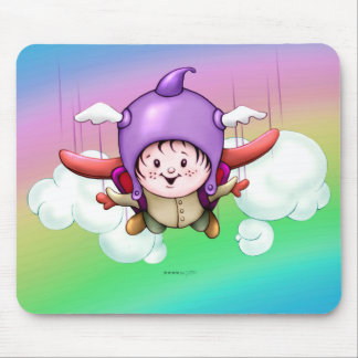 CHRISTOPHER CUTE ALIEN CARTOON MOUSE PAD