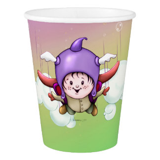 CHRISTOPHER CUTE CARTOON PAPER CUP
