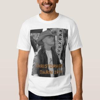 Christopher Darin 2008 - Customized Shirt