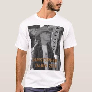 Christopher Darin 2008 - Customized T-Shirt