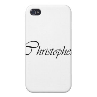 Christopher iPhone 4/4S Case