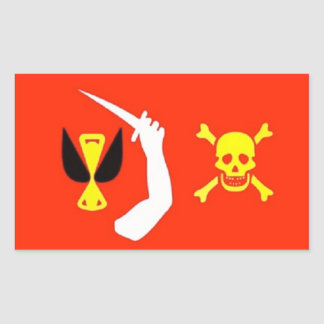 Christopher Moody's Pirate Flag Sticker