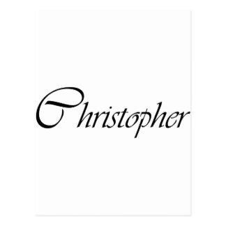 Christopher Postcard
