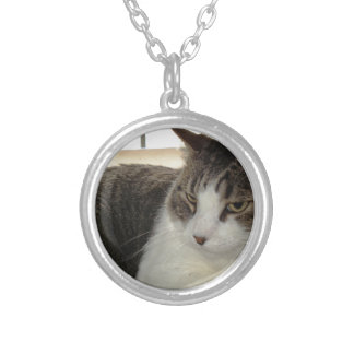 Christopher Round Pendant Necklace