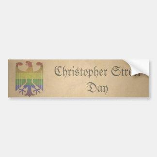 Christopher Steet Day - Old Bumper Sticker