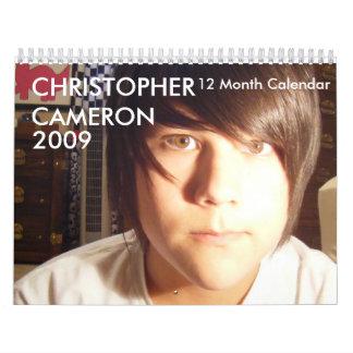 CHRISTOPHERCAMERON 12 Month Calendar
