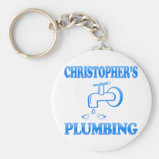 Christopher's Plumbing Keychains