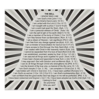 Christian Poster: Christ's Bell