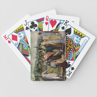 Christ's Charge to St. Peter (cartoon for the Sist Bicycle Playing Cards