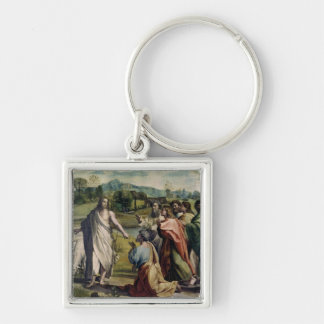 Christ's Charge to St. Peter (cartoon for the Sist Keychain