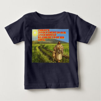 Christ's Involvement In Our Lives. Baby T-Shirt