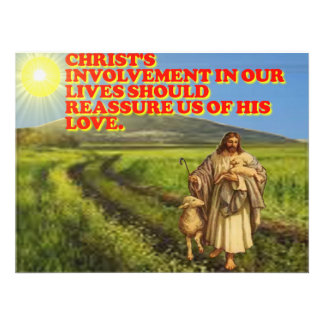 Christ's Involvement In Our Lives. Photo Print