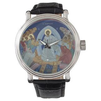 Christ's Resurrection Orthodox Icon Watch