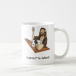 Christ's Sake Classic White Coffee Mug