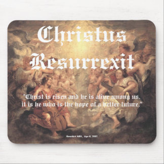 Christus Resurrexit - Hope /  full image Mouse Pad