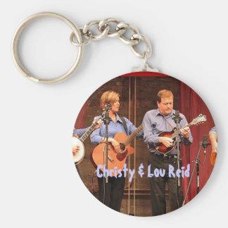 Christy & Lou Reid keychain