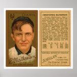 Christy Mathewson Baseball 1911 Posters