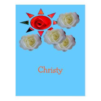 Christy Postcard