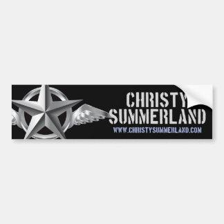 Christy Summerland Logo Bumper Sticker