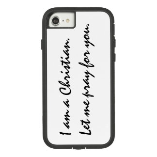 Chritian's iPhone case