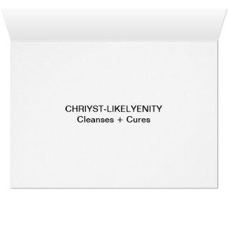 CHRIYST-LIKELYEN 3C CARD