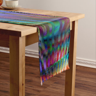 Chroma Rays Short Table Runner