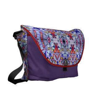 ChromaFlora© Commuter/Diaper Bag Messenger Bag