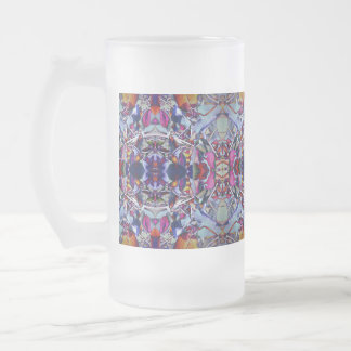 ChromaFlora© Frosted Glass Mugs