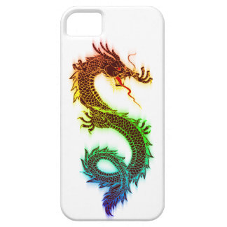 Chromatic Eastern Dragon iPhone 5 Cases