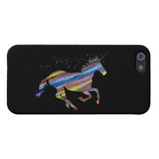 Chromatic Geometric Rainbow Unicorn iPhone 5/5S Case