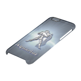 Chrome Aquarius Clear iPhone 6/6S Case