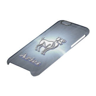 Chrome Aries Clear iPhone 6/6S Case