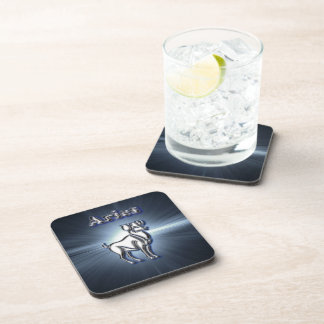 Chrome Aries Coaster