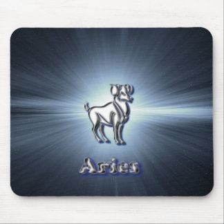 Chrome Aries Mouse Pad