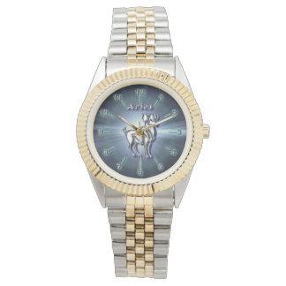 Chrome Aries Watch