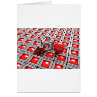 chrome balls card