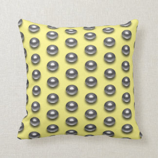 Chrome Balls Cushion