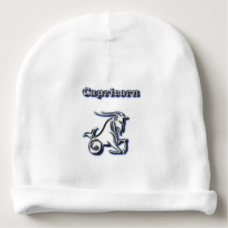 Chrome Capricorn Baby Beanie